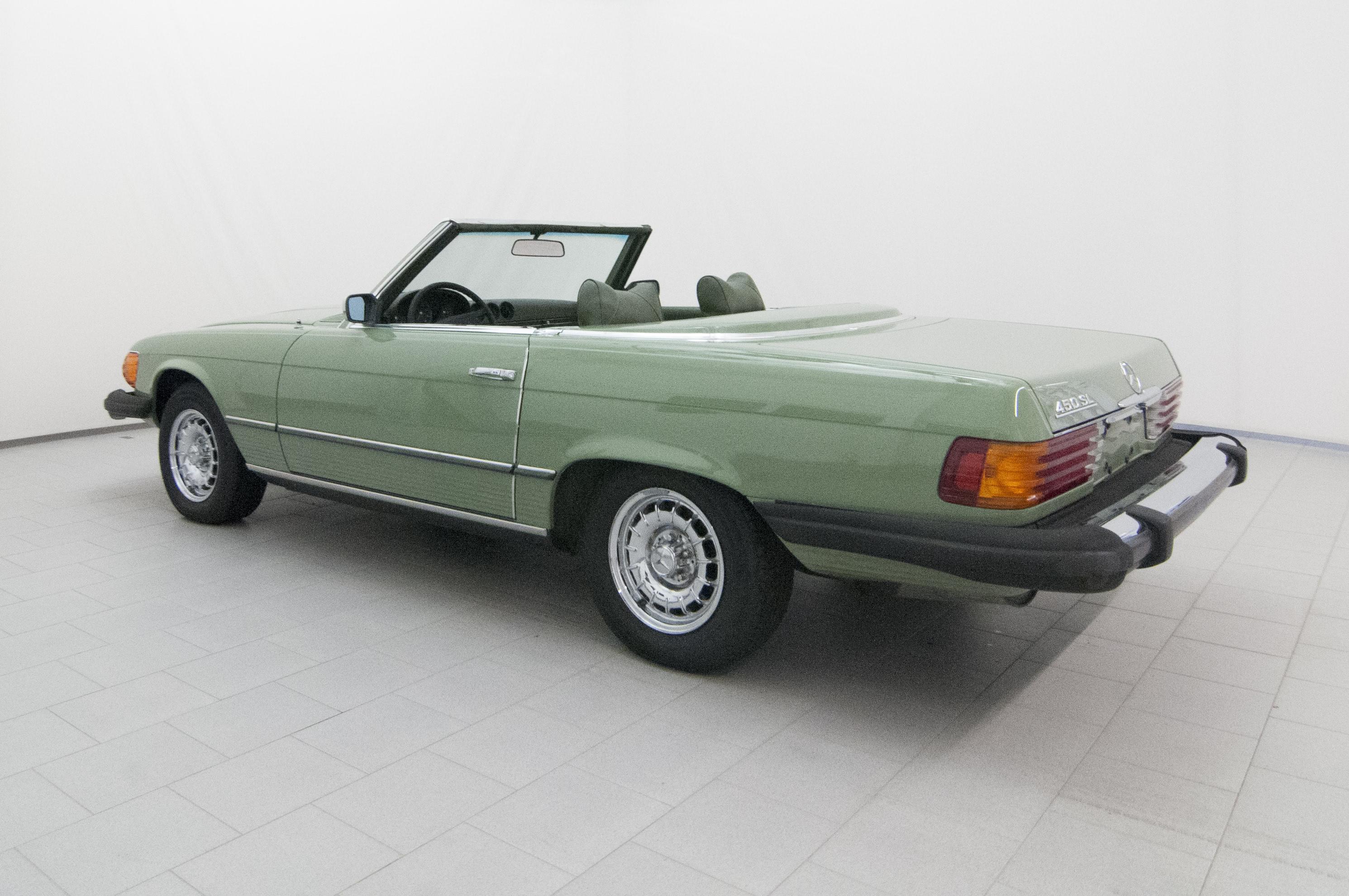 Mercedes benz 450 sl classicbid for Mercedes benz sl 450