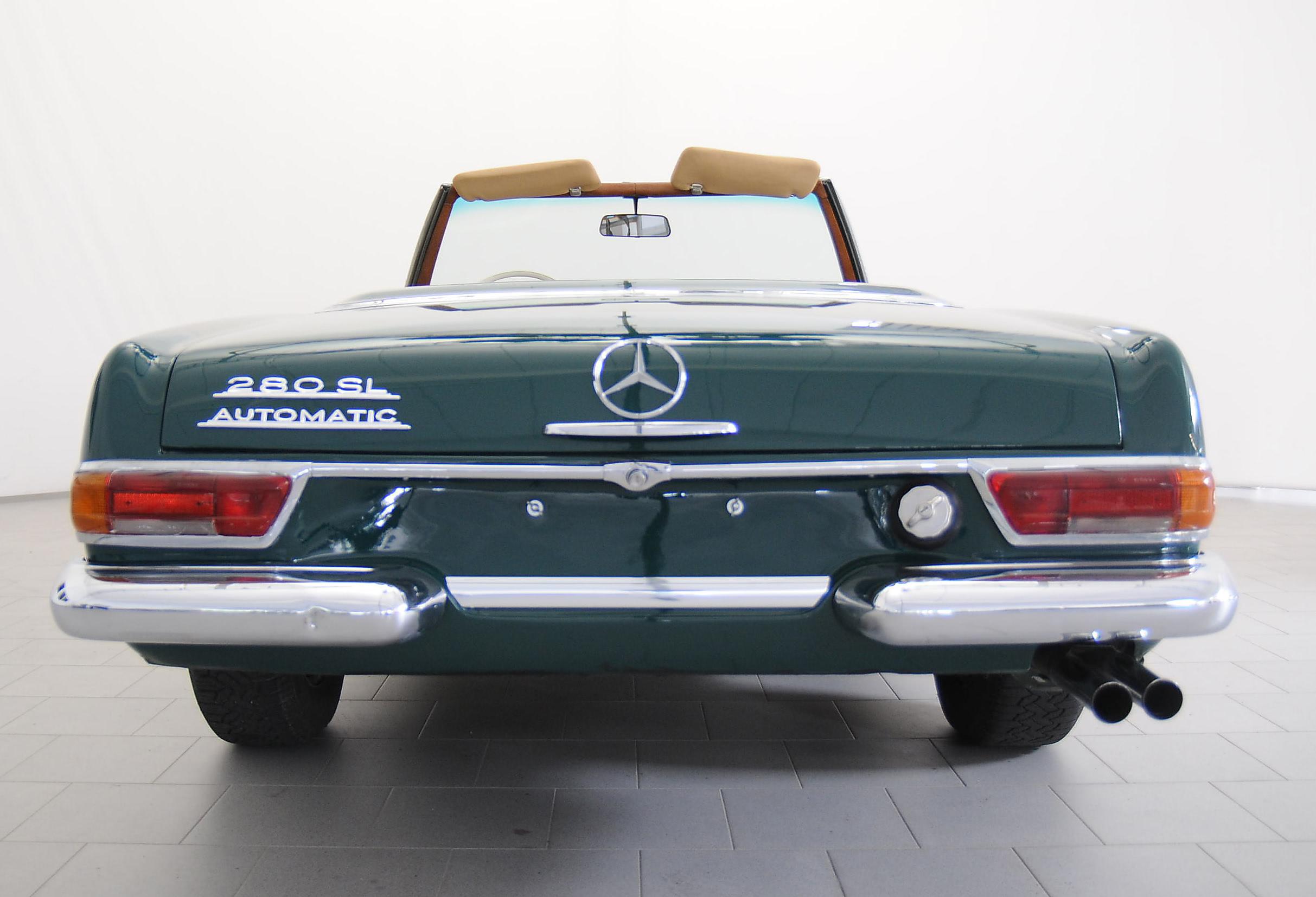 Mercedes benz 280 sl pagode classicbid for Mercedes benz sl 280
