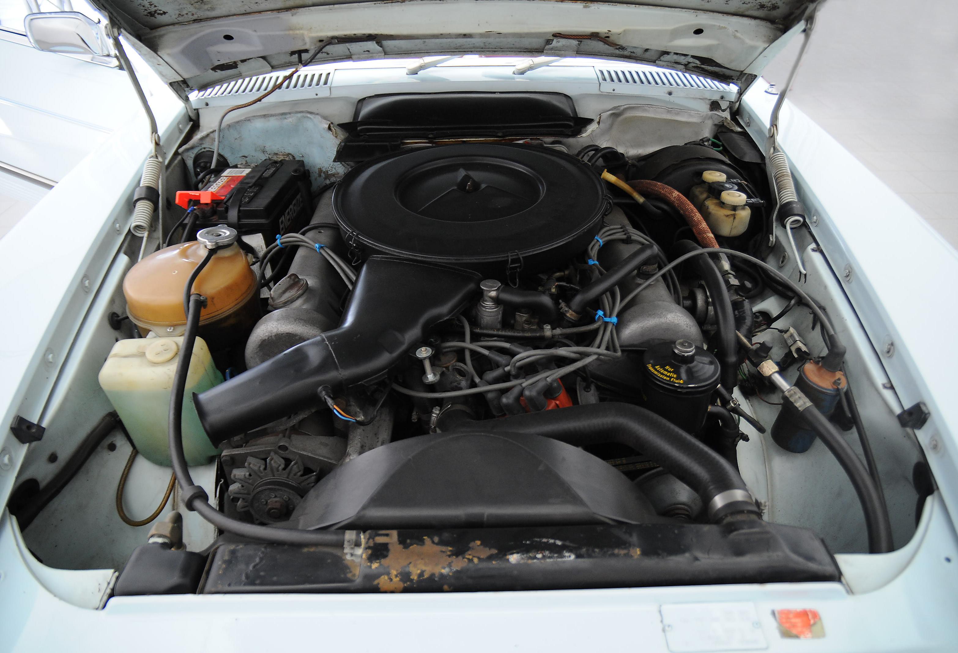 Mercedes Benz 450 Sl Classicbid M117 Engine