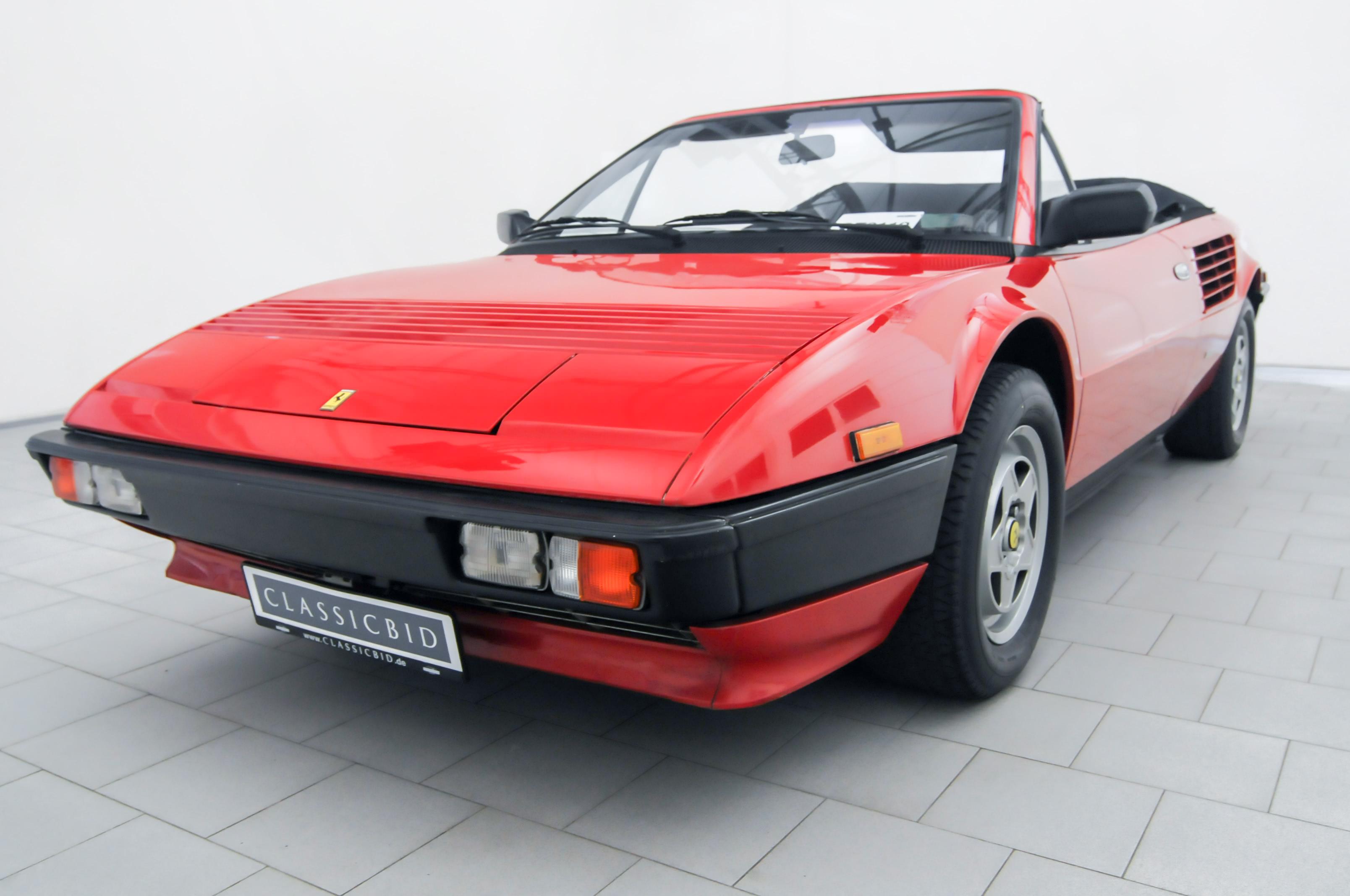 OT0119_01 Gorgeous Ferrari Mondial 3.2 Cabriolet V8 Quattrovalvole Cars Trend