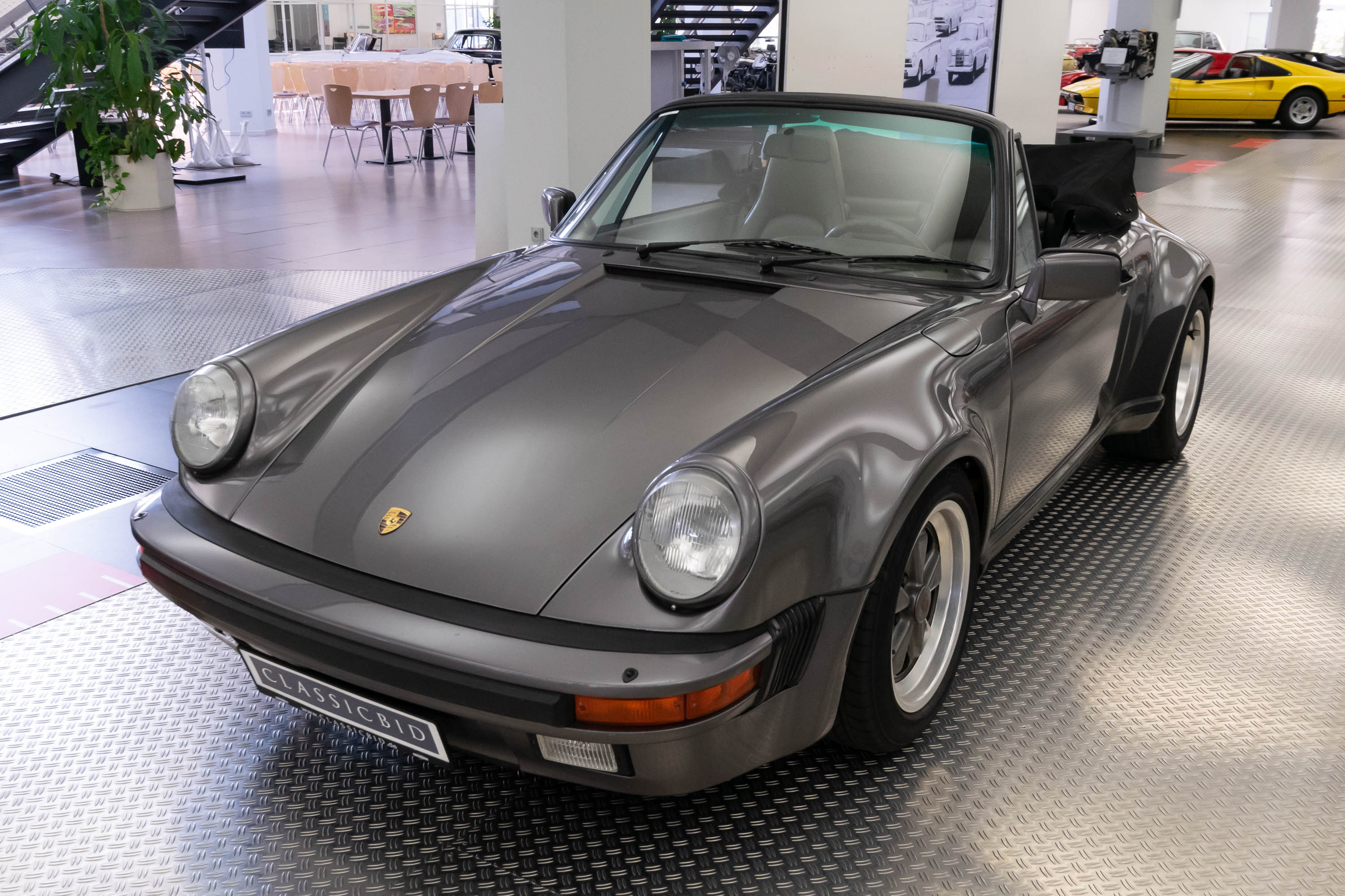 porsche 911 carrera 3 2 cabrio wtl classicbid. Black Bedroom Furniture Sets. Home Design Ideas