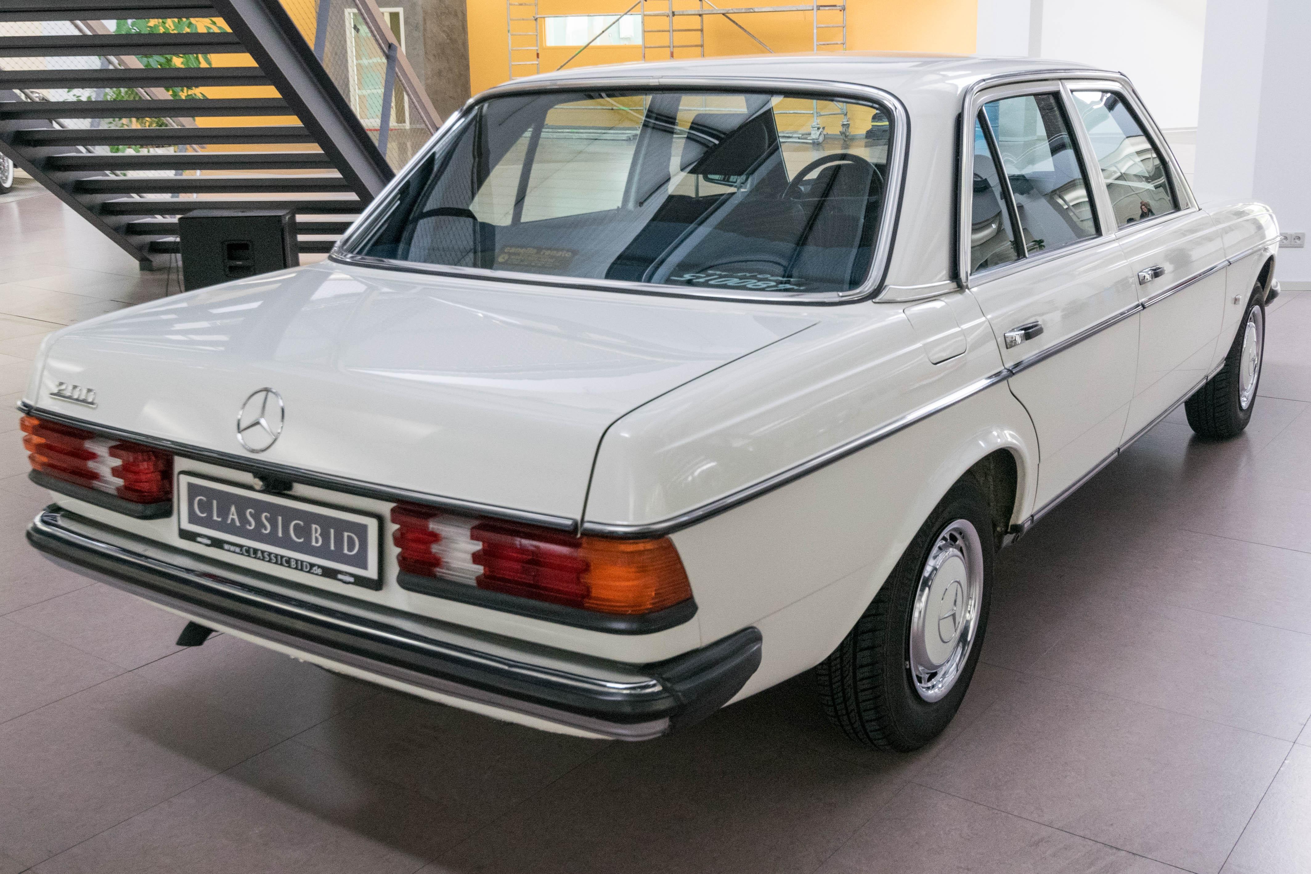 Mercedes w123 tuning silnika   Benz W123