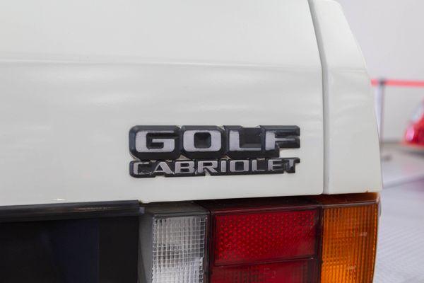 Volkswagen Golf I Cabrio