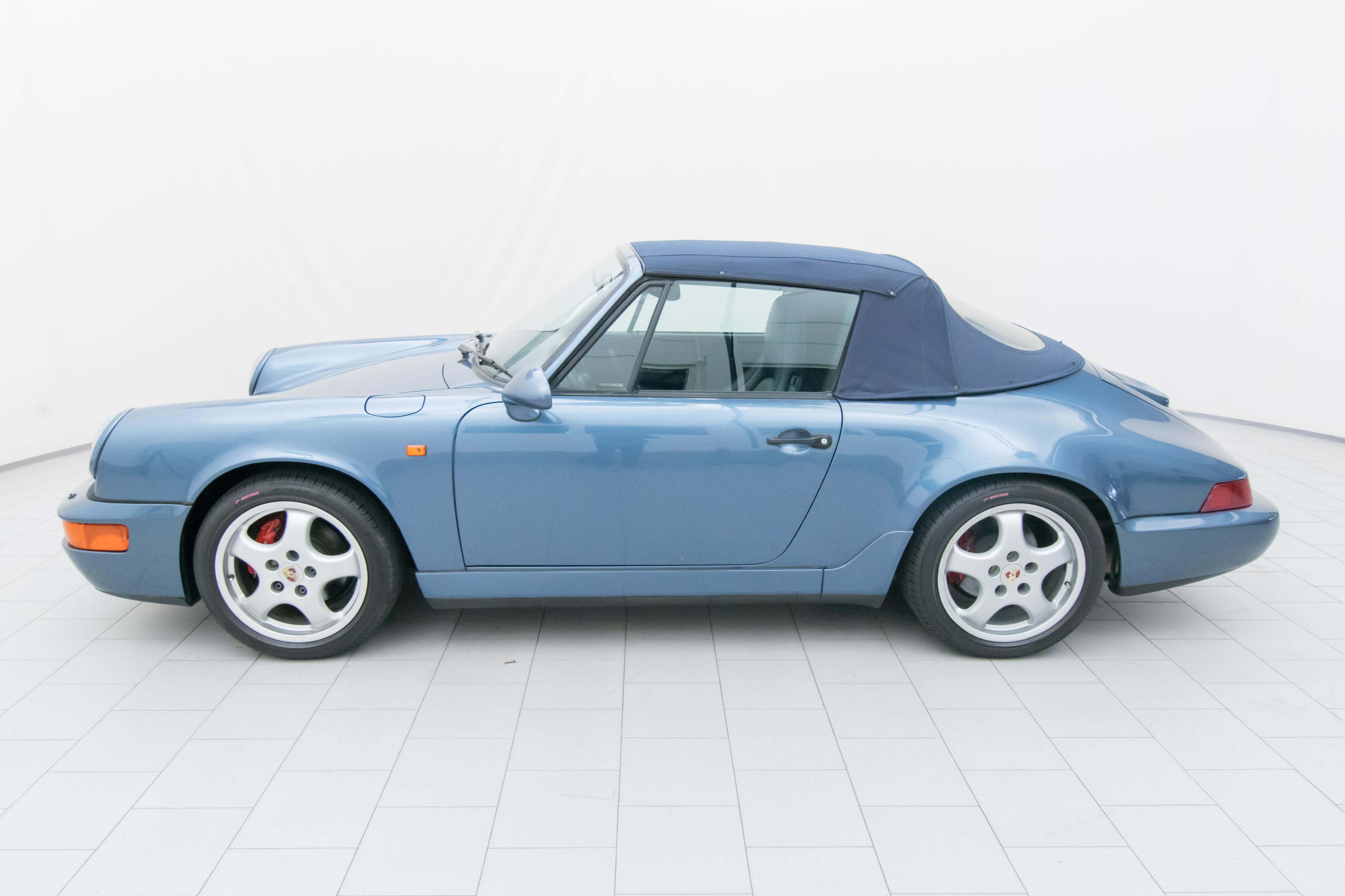 porsche 911 carrera 4 cabrio 964 classicbid. Black Bedroom Furniture Sets. Home Design Ideas