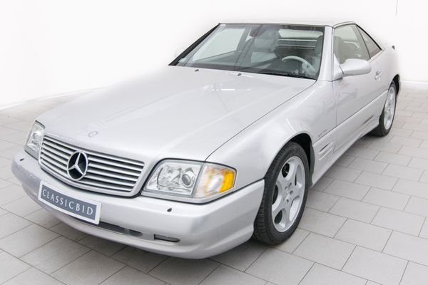 Mercedes-Benz SL 500 Silver Arrow Final Edition