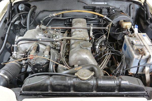 Mercedes-Benz 250 SE Cabrio