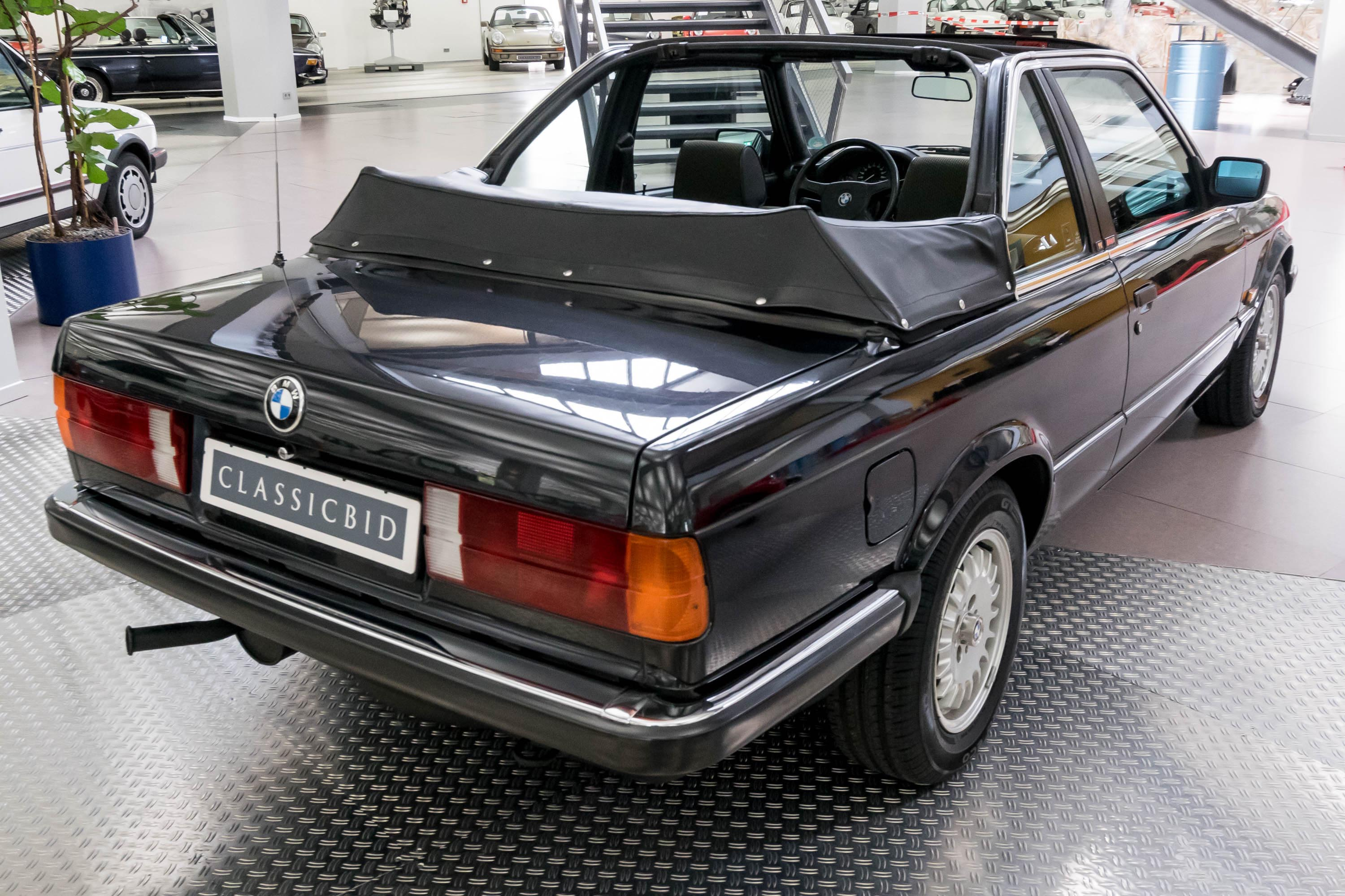 bmw 316 e30 baur cabrio tc2 classicbid. Black Bedroom Furniture Sets. Home Design Ideas